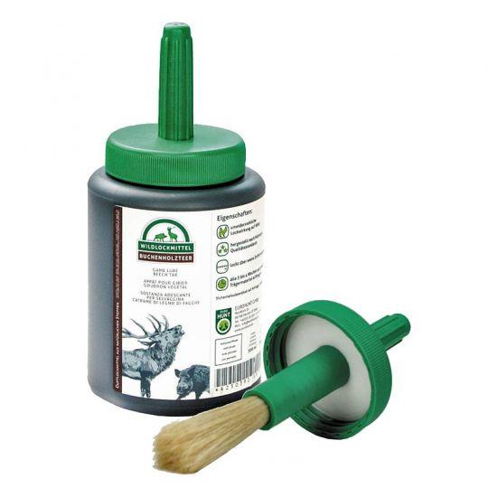 Buchenholzteer 500 ml mit Pinsel
