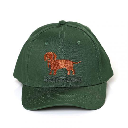 Krawattendackel Cap Schirmkappe grün