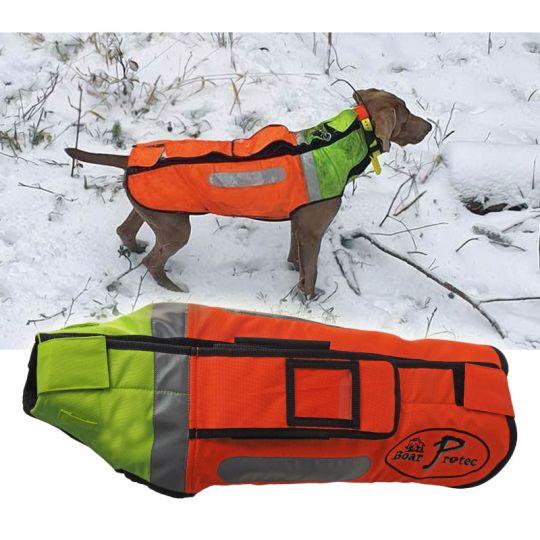 Boar Protec Hunde Schutzweste gelb/orange