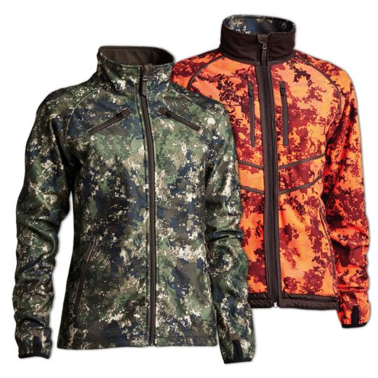 Northern Hunting Damen Jacke Groawendbar camouflage