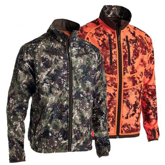 Northern Hunting Jacke Roar wendbar camouflage